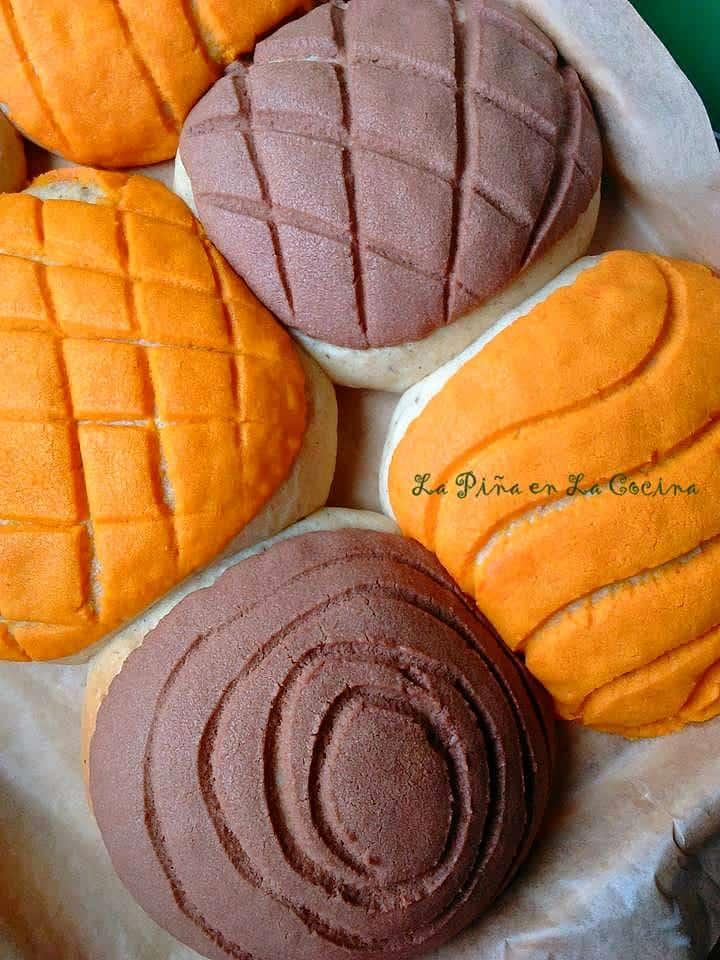 Conchas-Pan de Huevo #conchas #pandulce #mexicansweetbread