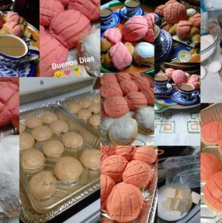 Conchas~Mexican Pan de Dulce (Soft Yeast Bread)