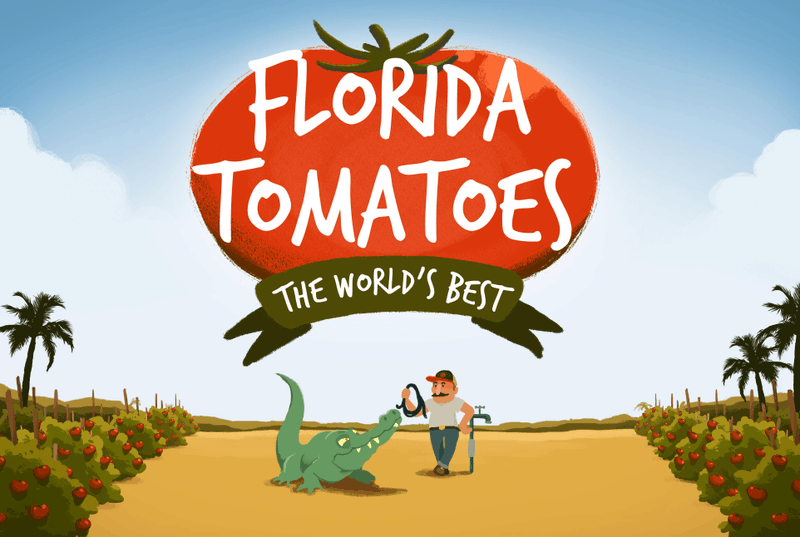 Florida Tomatoes, The World's Best
