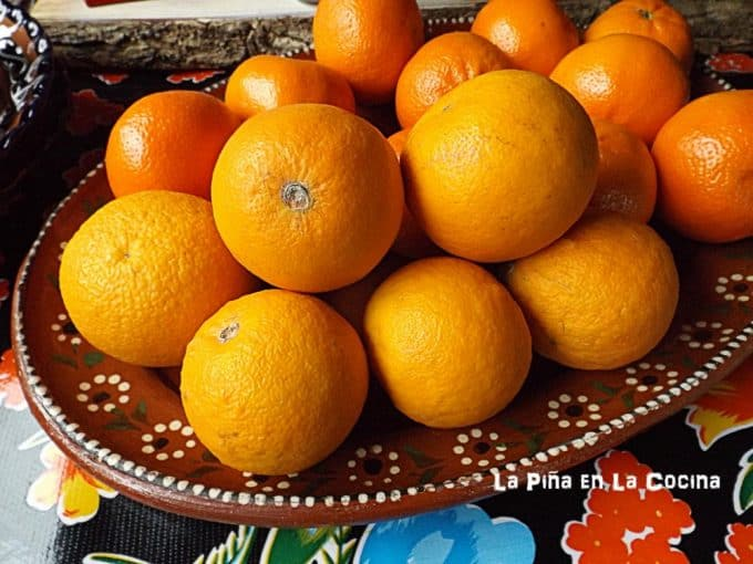 Sour Oranges used in the marinade for pork