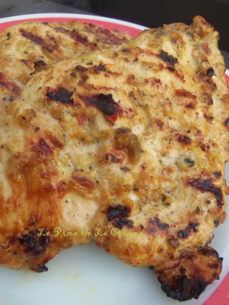 Garlic Mojo Grilled Chicken