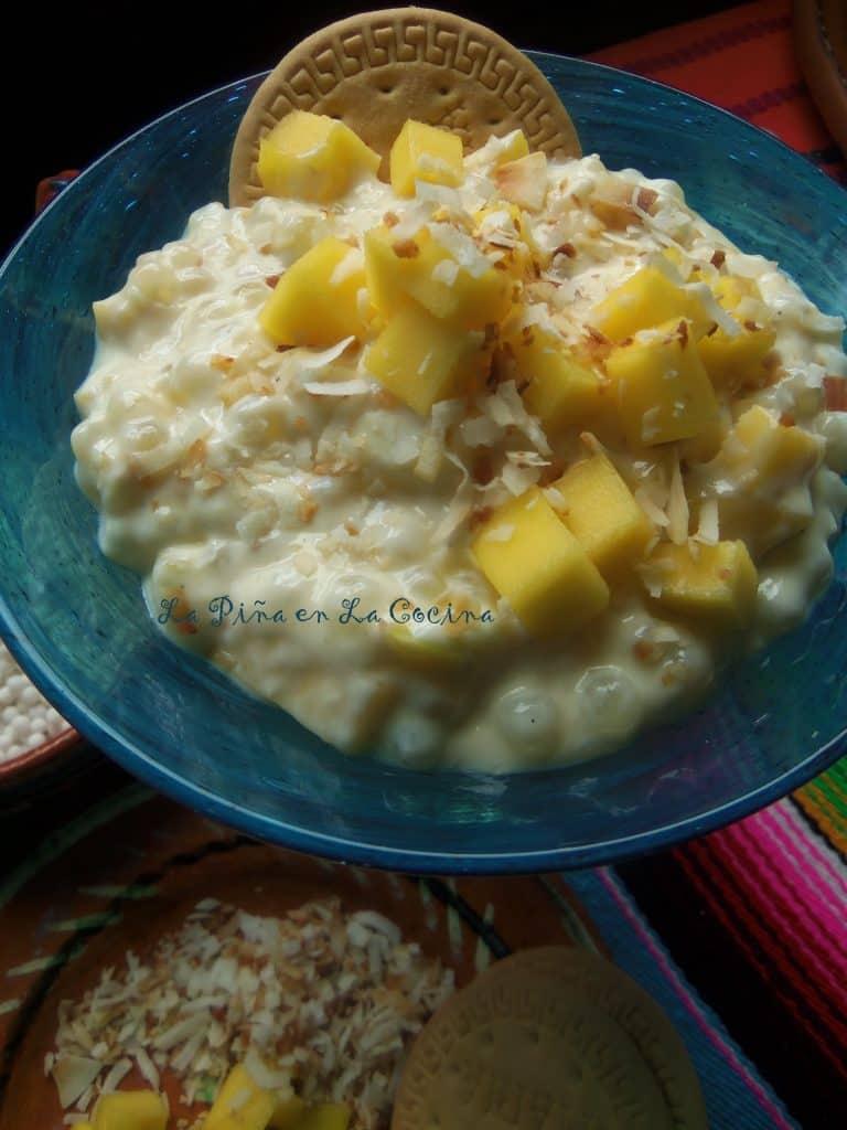 Mango Toasted Coconut Tapioca