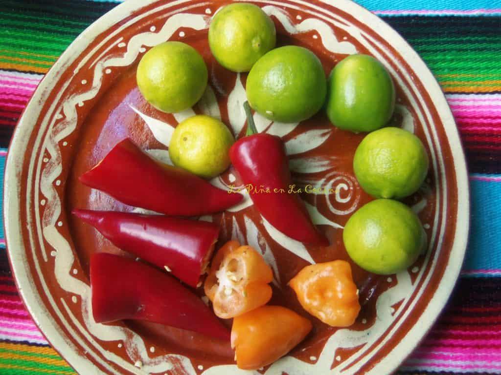 Camarones en Agua Chile Rojo