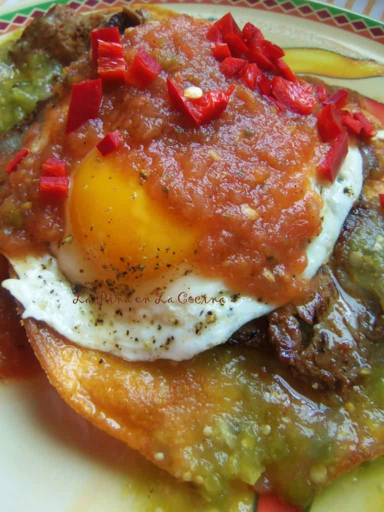 Huevos Rancheros with Steak