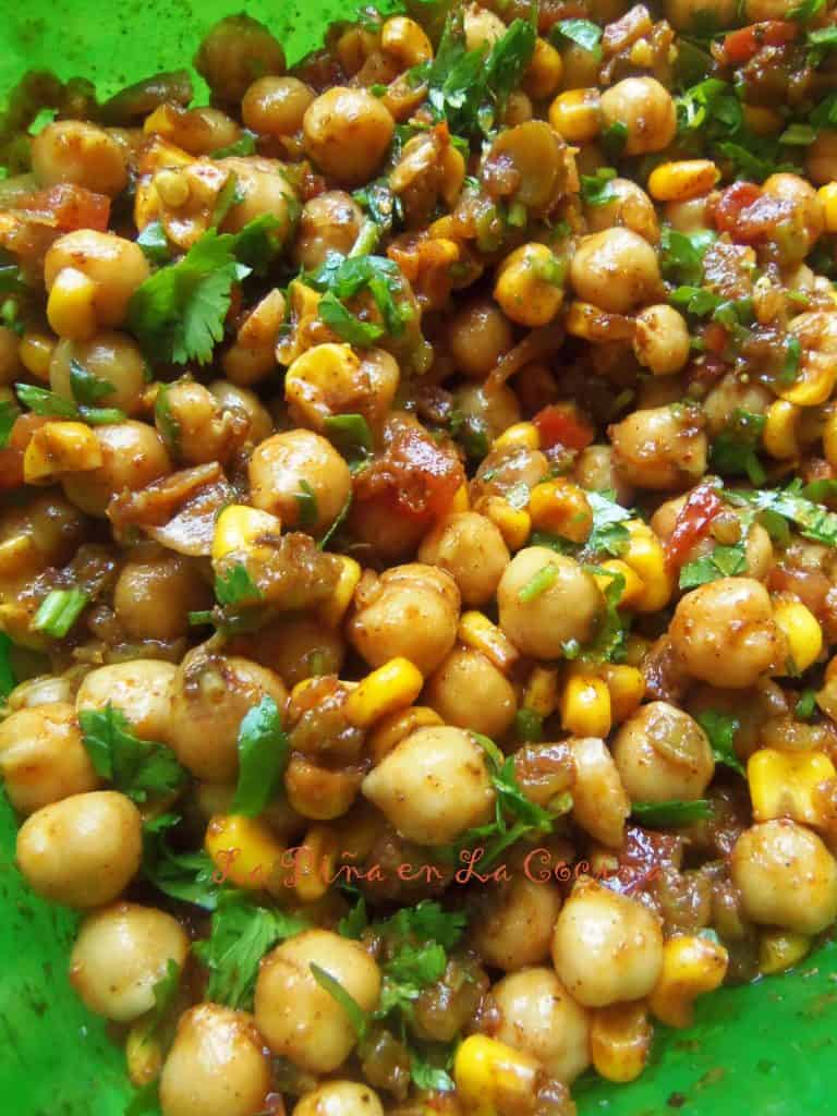 Garbanzo Chile Salad-Summer Foods