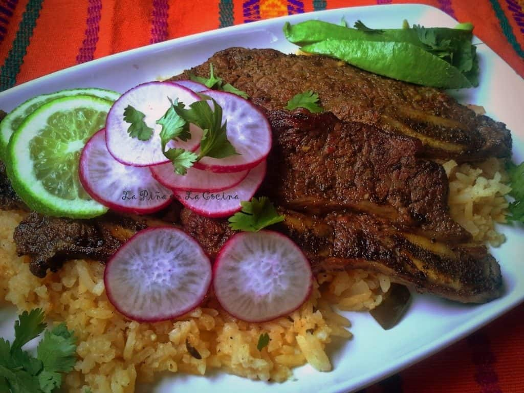 Citrus Chile Marinated Beef Short Ribs