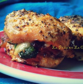 Stuffed Chicken Breast ~Pechugas de Pollo Rellenas