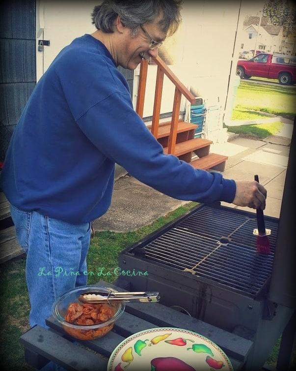 Richard Grilling. He loves it!