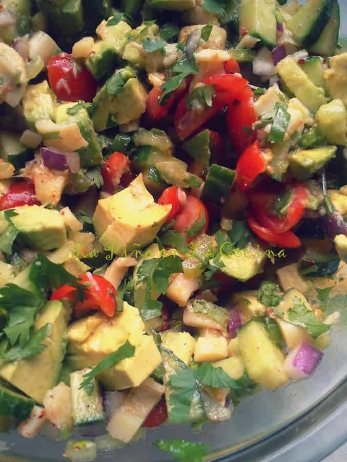 Hearts of Palm and Avocado Salad