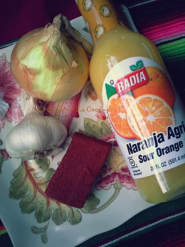 Preparing Marinade for Cochinita Pibil