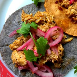 Cochinita Pibil~Slow Roasted Pork in Banana Leaves