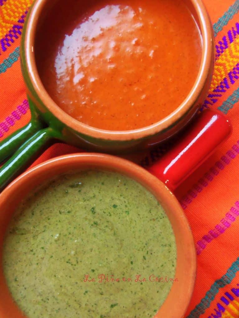 Achiote Rojo y Verde
