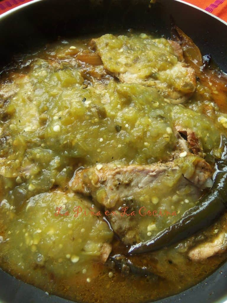 Pork Tenderloin in Salsa Verde