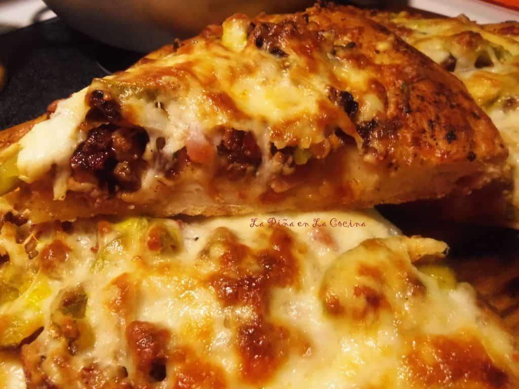 Cubano Pizza with Carnitas