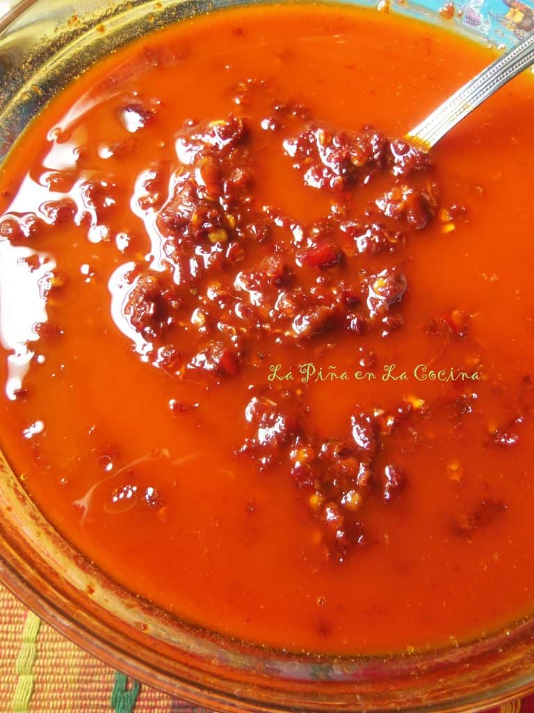 Red Chile Oil/Adobo