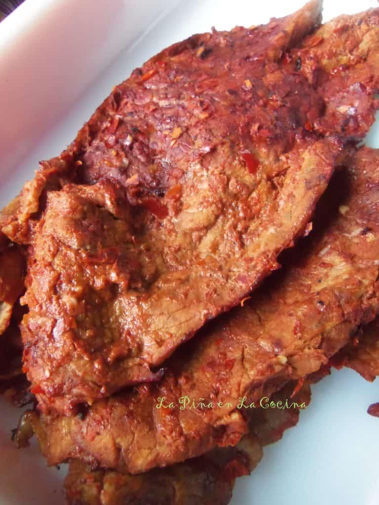 Cecina Enchilada de Res-Beef Cecina