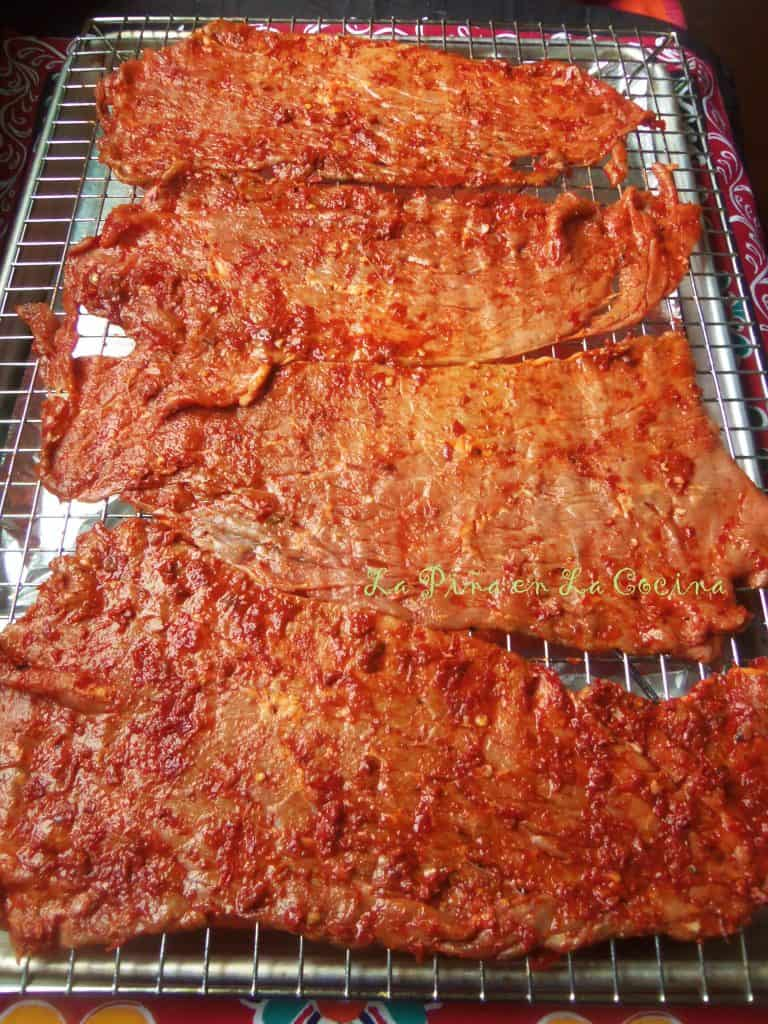 Dried Beef Cecina-In The Oven