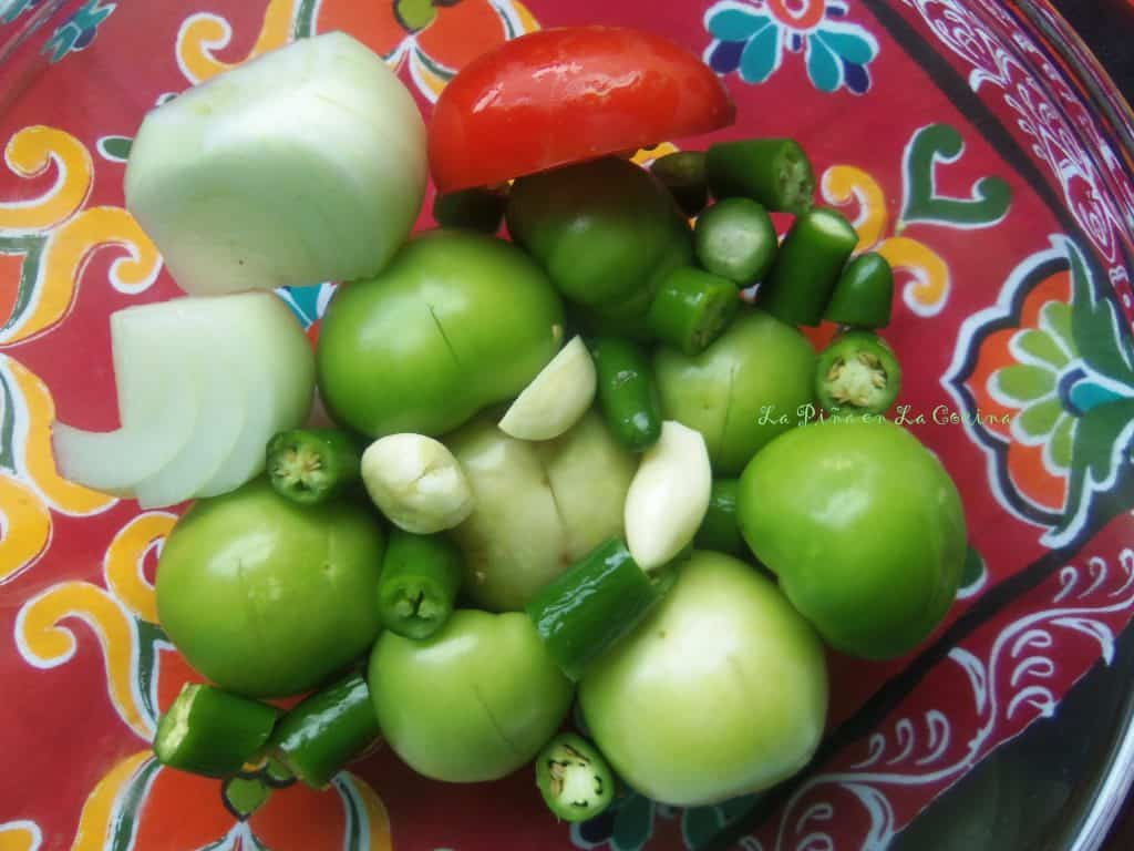 Tomatillo Salsa for Chilaquiles, Enchiladas, Taquitos or Burritos