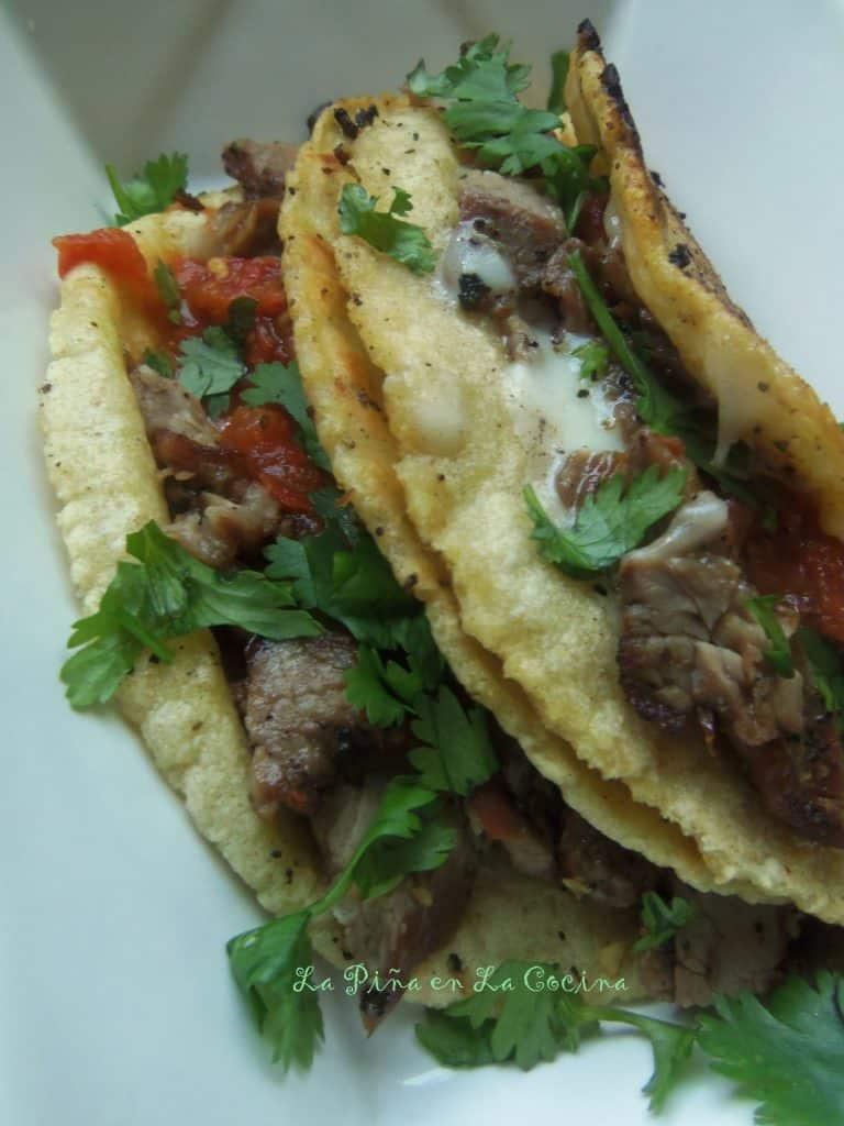 Tacos al Carbon-Carne Asada