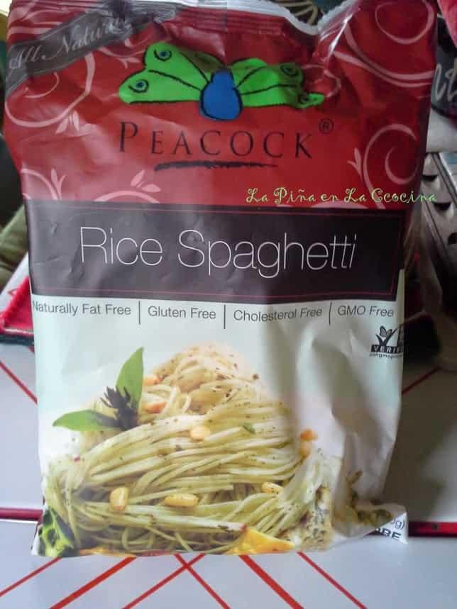 Spaghetti Style Rice Noodles