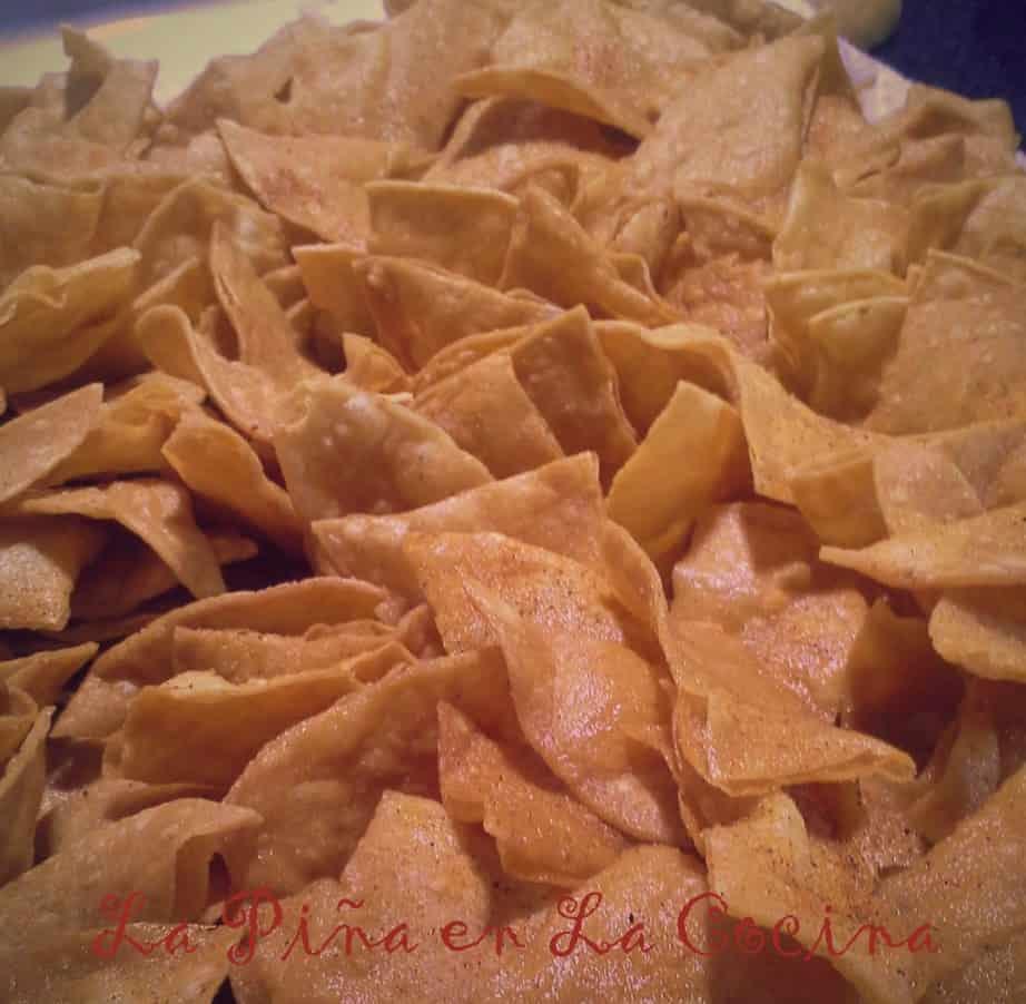 Totopos- Homemade Tortilla Chips