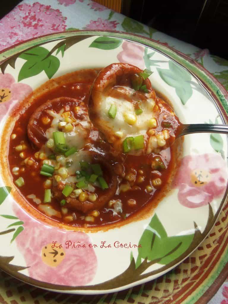Chochoyotes Enchilados-Red Chile Masa Dumplings