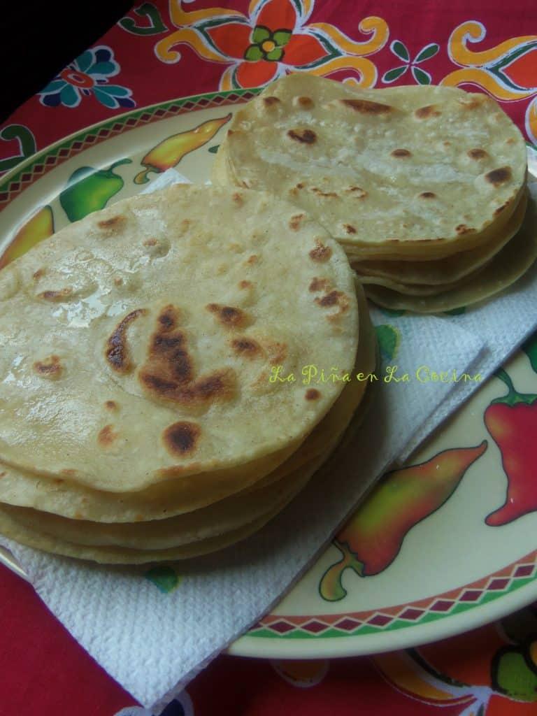 Corn Tortillas-Pastel Azteca