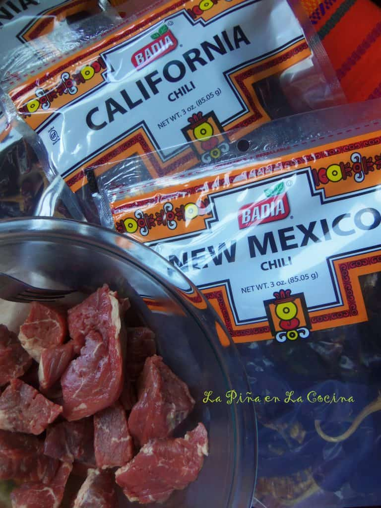 Carne Con Chile Rojo