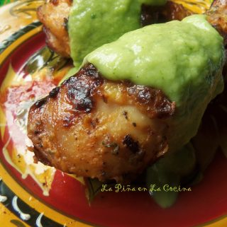 Grilled Lemon and Fresh Herb Chicken~ Pollo Asado
