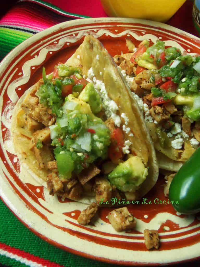 Spicy Lime Pepper Chicken ~Tacos Dorados