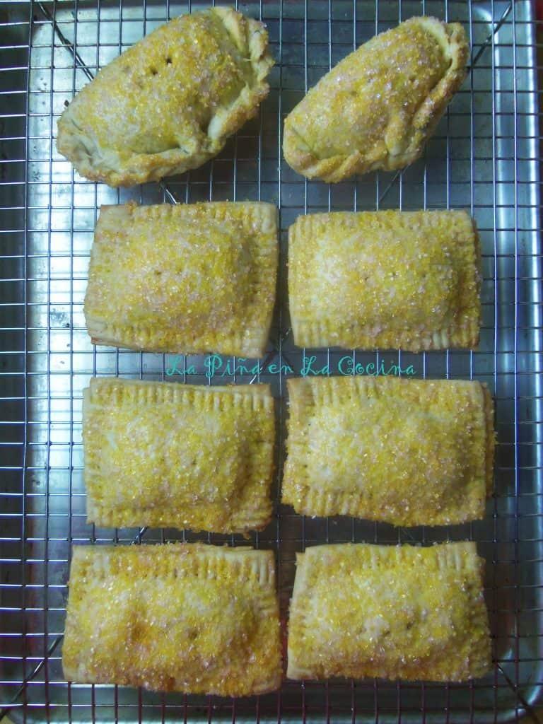La Piña Tarts(Homemade Pineapple Pop Tarts)