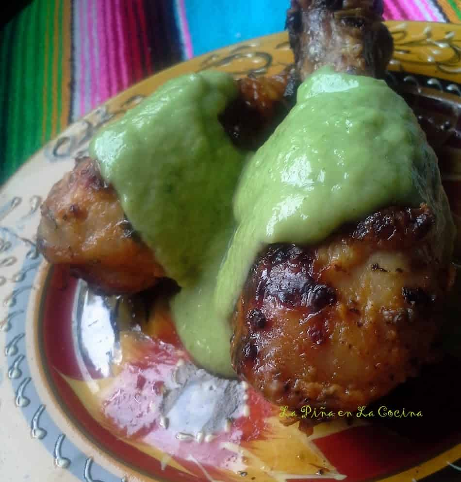 Grilled Lemon and Herb Chicken-Pollo Asado