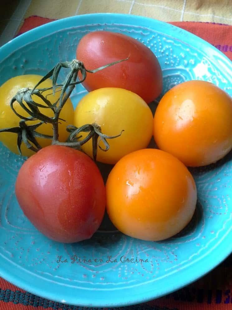 Sopa Azteca-Tomatoes