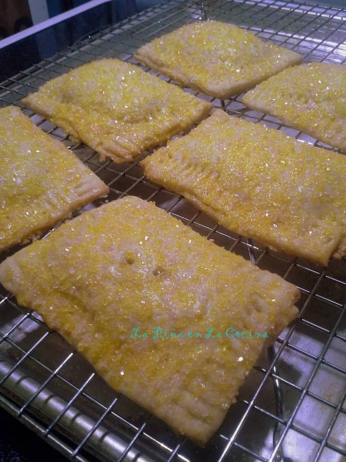 La Piña Tarts (Homemade Pineapple PopTarts)