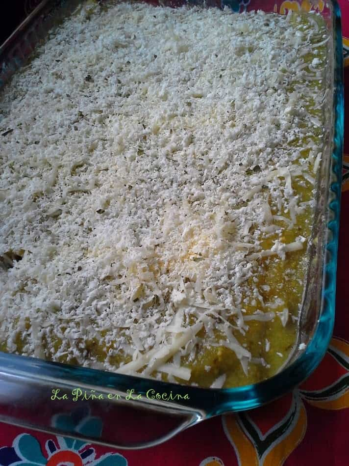 Salsa Verde Quinoa and Black Bean Enchiladas