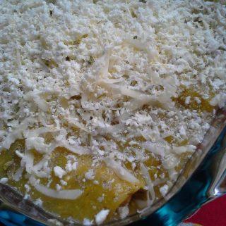 Salsa Verde~ Quinoa and Black Bean Enchiladas