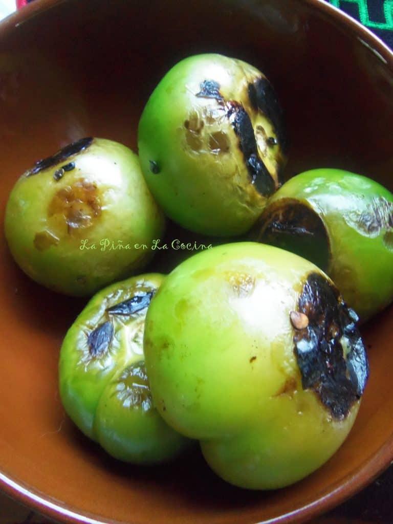 Salsa Taquera-Tomatillos Tatemados