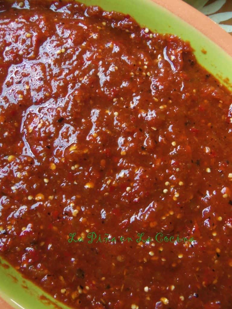 Salsa Taquera-Chile de Arbol Tomatillo Salsa