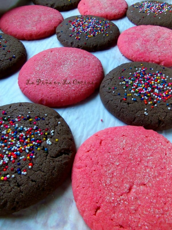 Polvorones-Pink Cookies