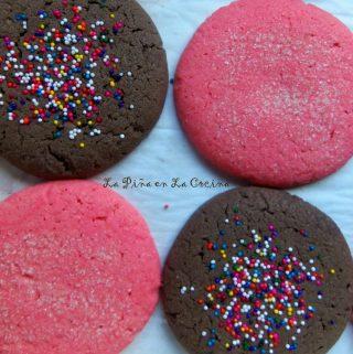 Polvorones~Pink Cookies & Cake!
