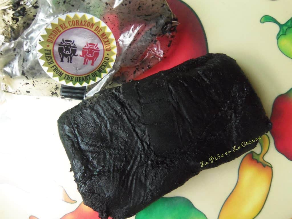 Mole Negro Prepared With Recado Negro