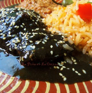 Mole (Mo-leh) Negro~Prepared With Recado