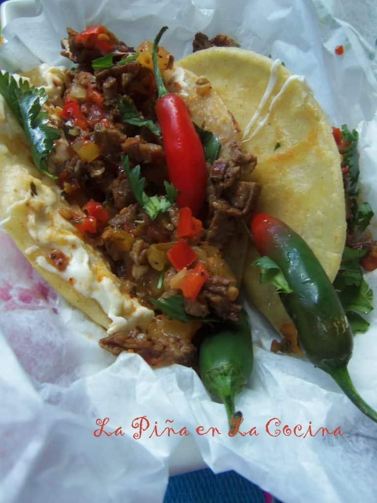 Quick Carne Asada Tacos-Using Leftovers