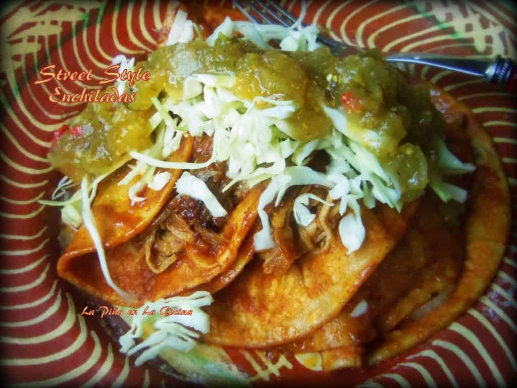 Street Style Enchiladas