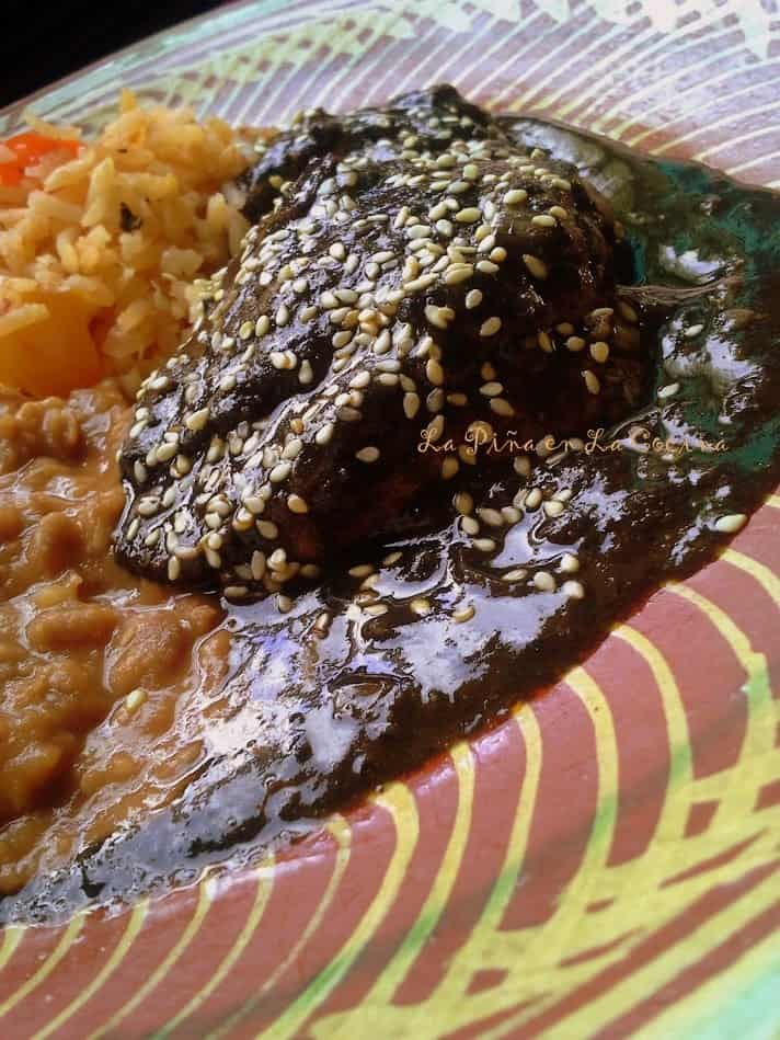Mole Negro(Mo-Leh)- Prepared With Recado
