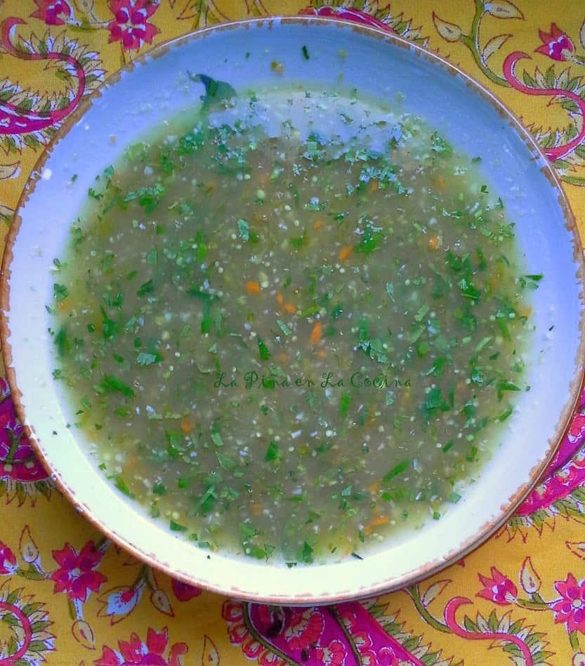 Tomatillo Habanero Hot Sauce