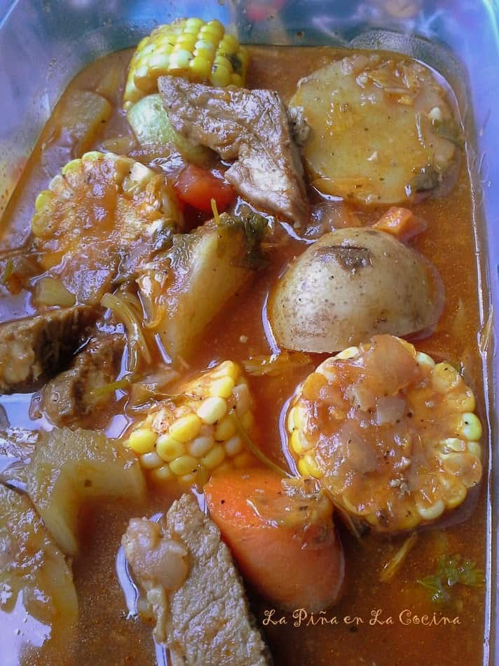 Caldo de Puerco-Pork Vegetable Soup