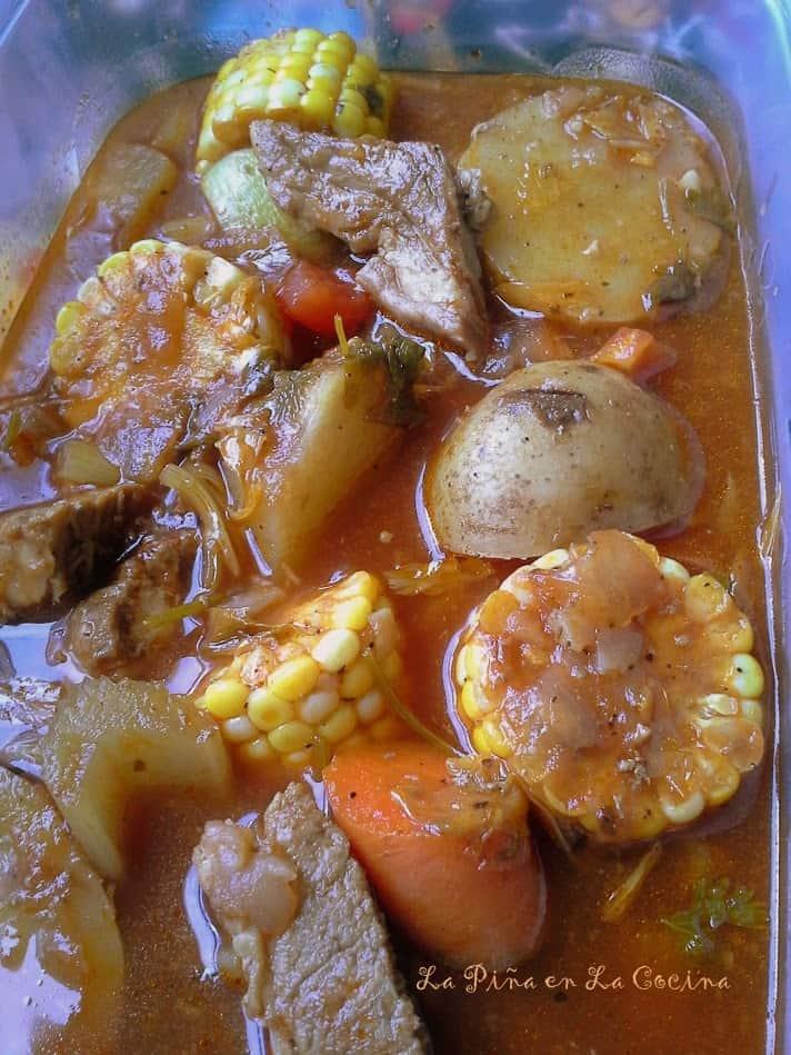 Caldo de Puerco-Pork Vegetable Soup