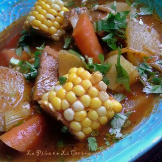 Caldo de Puerco (Pork and Vegetable Soup)~Recado Recipes