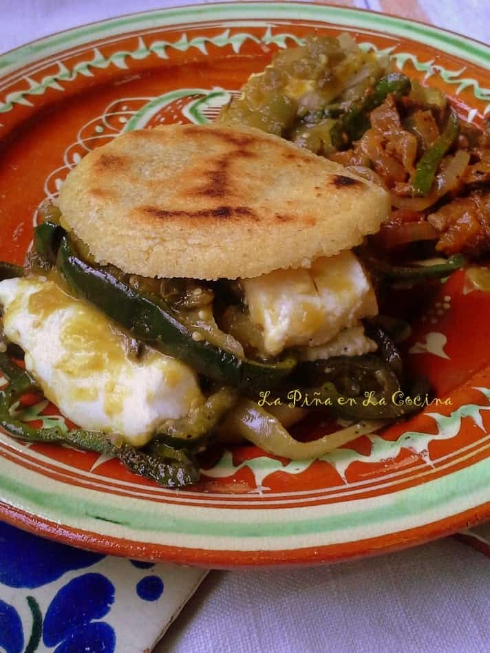 Queso con Chile Verde Gordita